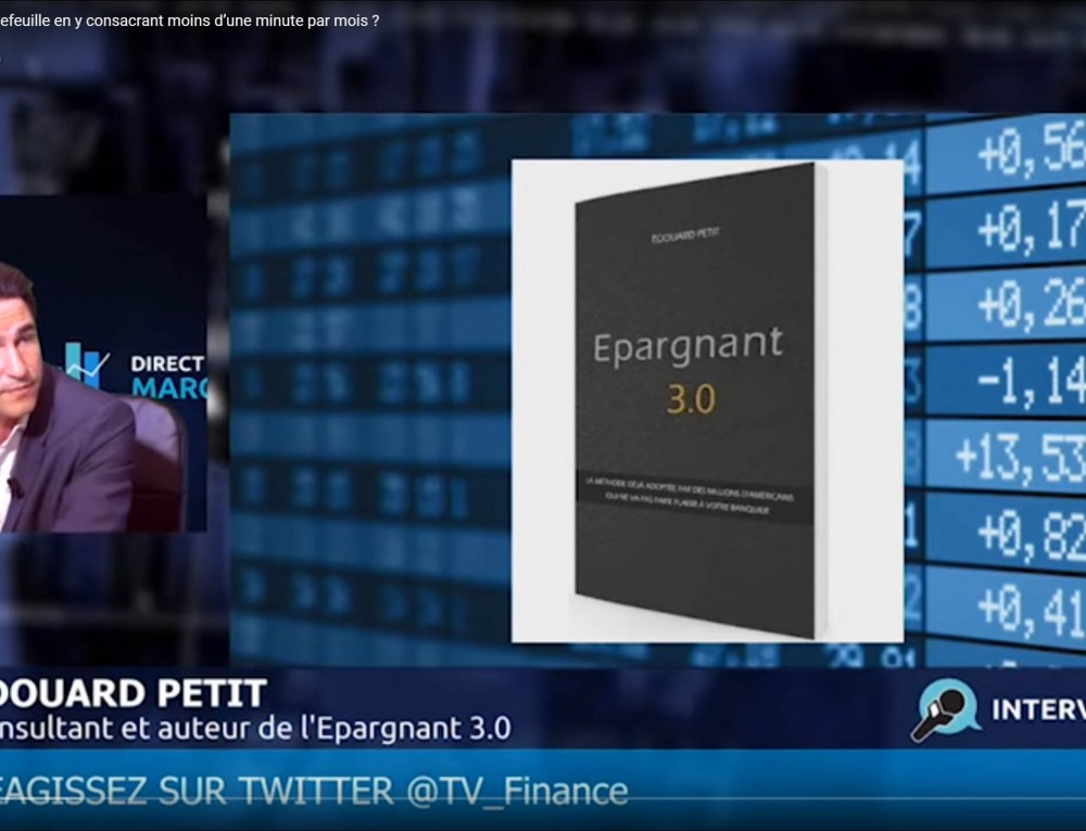 LES POINTS CLÉS D'ÉPARGNANT 3.0 EN VIDEO SUR TVFINANCE