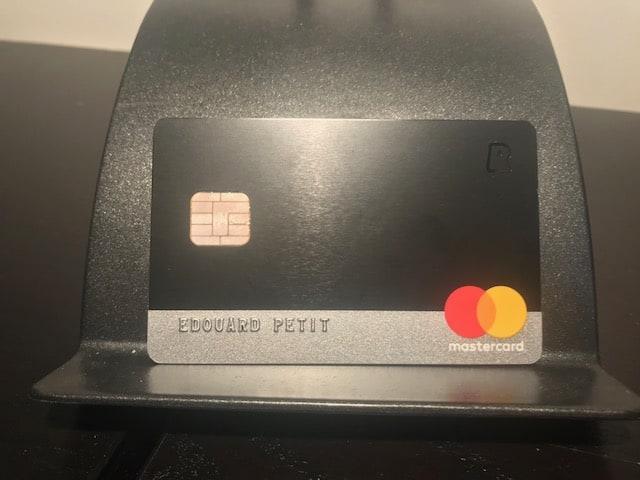 Carte premium mastercard Revolut