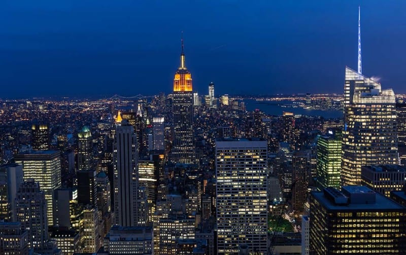 New-York la nuit