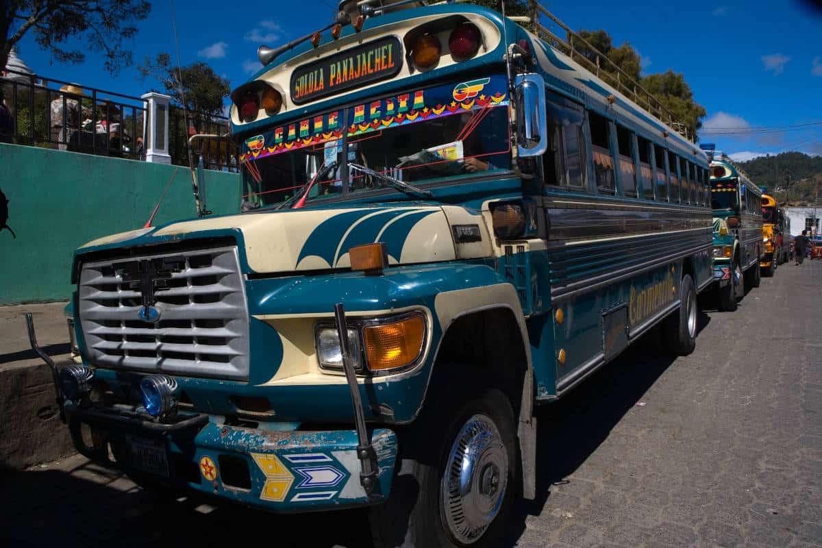 Le bus du CTO au Gautemala